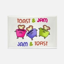 TOAST AND JAM Magnets