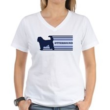 Otterhound (retro-blue) Shirt