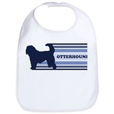 Otterhound (retro-blue) Bib