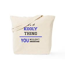 Funny Koolie Tote Bag