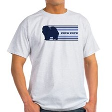 Chow Chow (retro-blue) T-Shirt