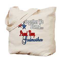 Navy Godmother Tote Bag
