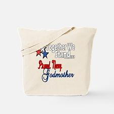 Navy Godmother Tote Bag