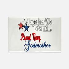 Navy Godmother Rectangle Magnet (10 pack)