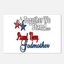 Navy Godmother Postcards (Package of 8)