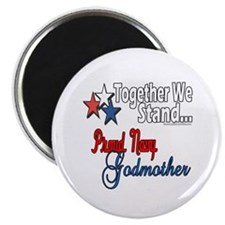 "Navy Godmother 2.25"" Magnet (100 pack)"