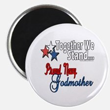 """Navy Godmother 2.25"""" Magnet (100 pack)"""