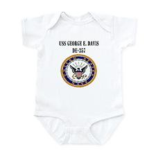 USS GEORGE E. DAVIS Infant Bodysuit