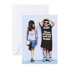 2 KIDS Greeting Cards (Pk of 10)
