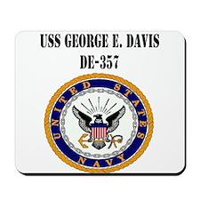 USS GEORGE E. DAVIS Mousepad
