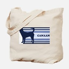 Canaan (retro-blue) Tote Bag