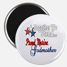"""Marine Godmother 2.25"""" Magnet (100 pack)"""