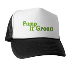 Pump it Green Trucker Hat