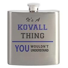 Unique Kovalic Flask