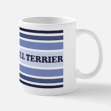 Bull Terrier (retro-blue) Mug