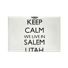 Keep calm we live in Salem Utah Magnets