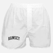 RAMSEY (curve-black) Boxer Shorts
