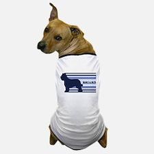 Briard (retro-blue) Dog T-Shirt