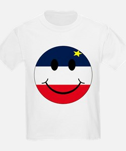 Acadian Smiley T-Shirt