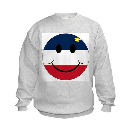 Acadian Smiley Kids Sweatshirt