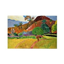 Unique Impressionism Rectangle Magnet (10 pack)