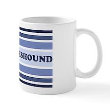 Keeshound (retro-blue) Mug
