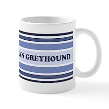Italian Greyhound (retro-blue Mug