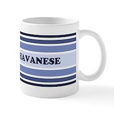 Havanese (retro-blue) Mug