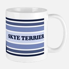 Skye Terrier (retro-blue) Mug