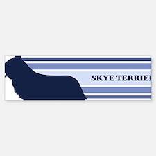 Skye Terrier (retro-blue) Bumper Bumper Bumper Sticker