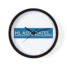 ML Associates Wall Clock