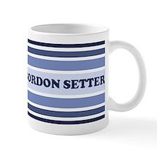 Gordon Setter (retro-blue) Mug
