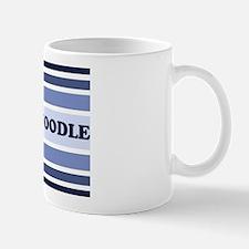 Schnoodle (retro-blue) Mug