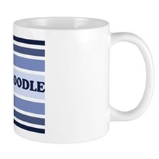 Schnoodle (retro-blue) Coffee Mug