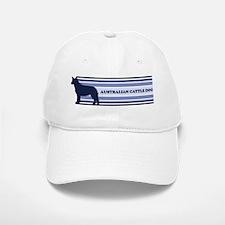 Australian Cattle Dog (retro- Baseball Baseball Cap