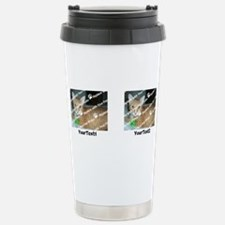 DIY Add 2 Photos 2 Text Stainless Steel Travel Mug