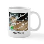 CUSTOMIZE Add 2 Photos 2 Texts Mug