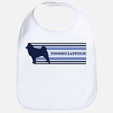 Finnish Lapphund (retro-blue) Bib