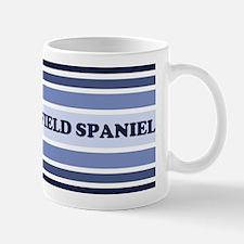 Field Spaniel (retro-blue) Mug