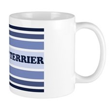 Rat Terrier (retro-blue) Mug
