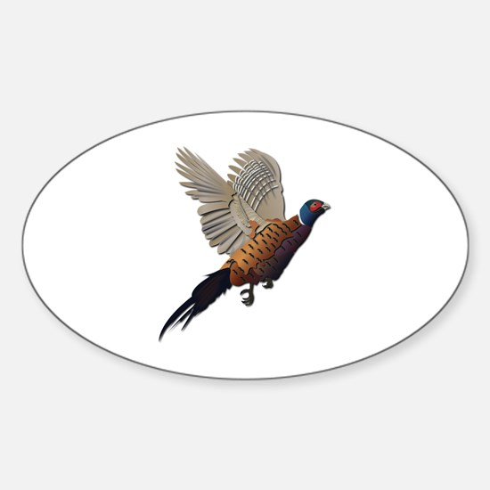 Pheasant Sticker (Oval)