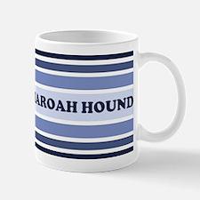 Pharoah Hound (retro-blue) Mug