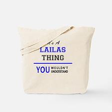Cute Laila Tote Bag