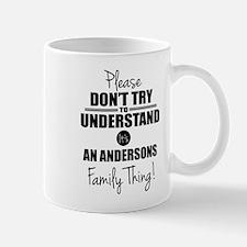 Custom Family Thing Small Mugs
