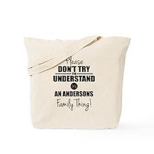 Custom Family Thing Tote Bag