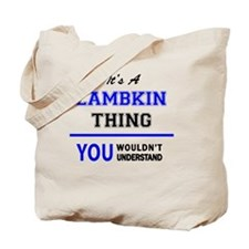 Unique Lambkin Tote Bag