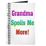 Grandma Spoils Me Journal