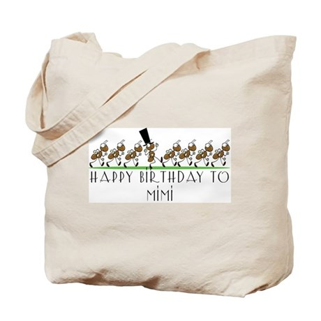 Happy Birthday Mimi (ants) Tote Bag