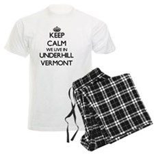 Keep calm we live in Underhil Pajamas