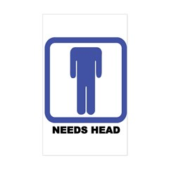 Needs Head Sticker (Rect.)